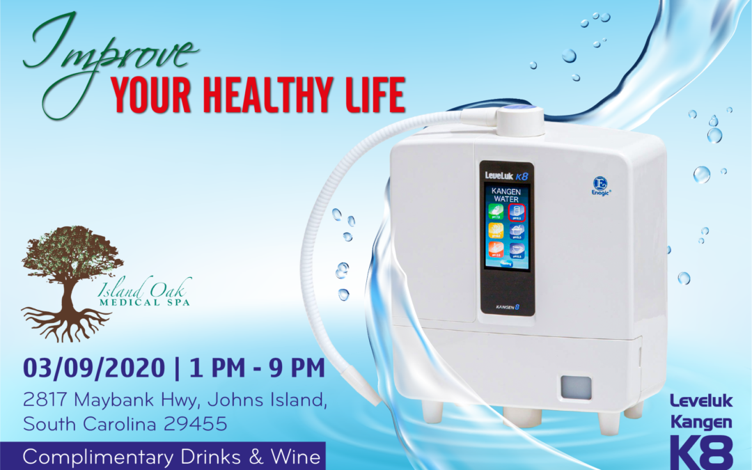 Improve Your Healthy Life – Kangen Water